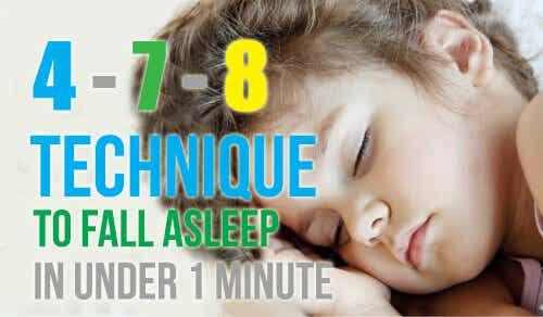 想在 1 分鐘內入睡嗎?