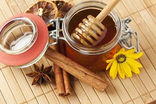 肉桂-蜂蜜