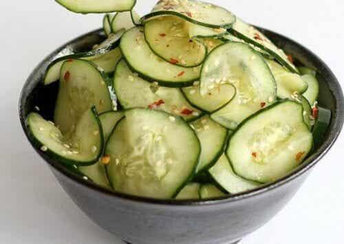 七種每天應該吃小黃瓜的好理由