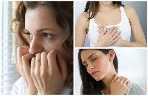 十大焦慮症的徵兆