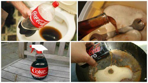 八大新奇的可口可樂家庭用途