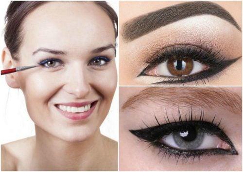 六種令人羨慕的眼線畫法