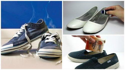 6種方法輕鬆擺脫鞋子臭味