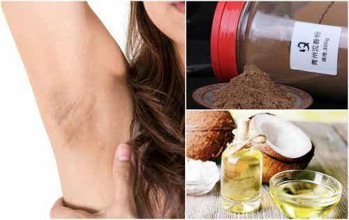 六種自然療法去除腋下黑斑暗沉