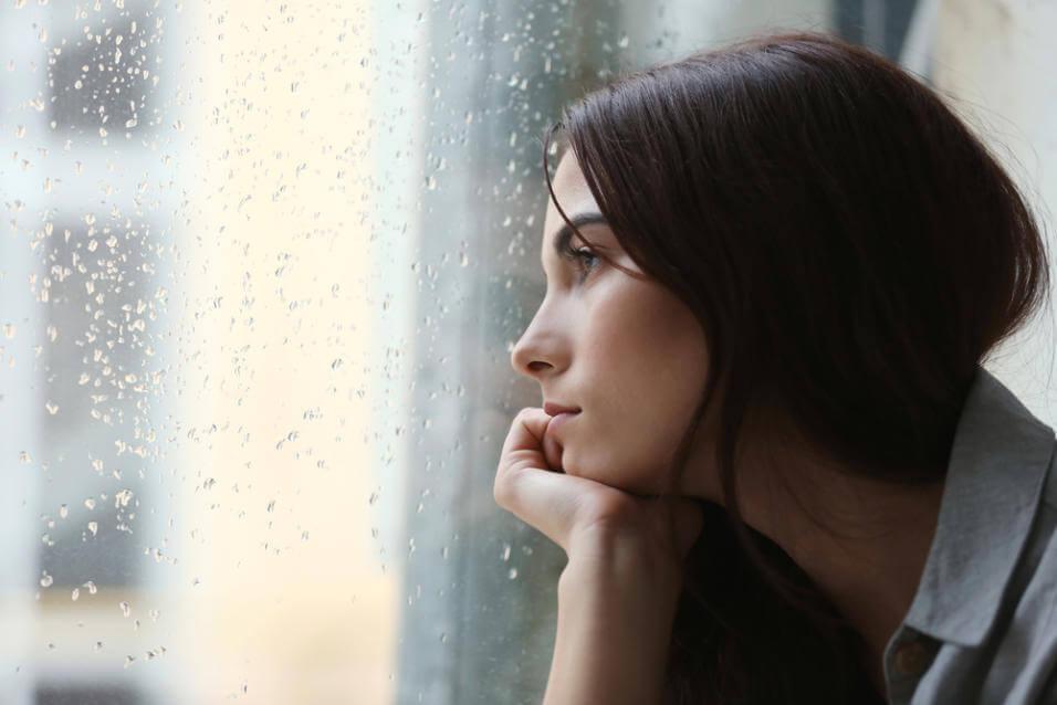 憂鬱症的女性