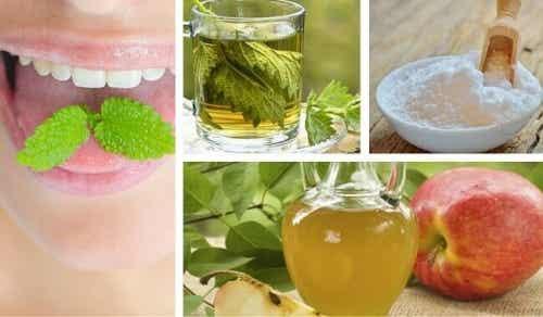 消除口臭的九種最佳天然配方
