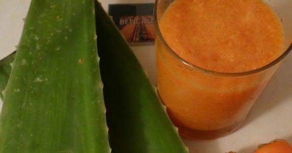 蘆薈膠-胡蘿蔔