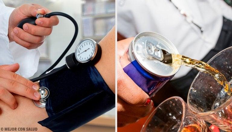 小心!這些飲料導致血壓升高