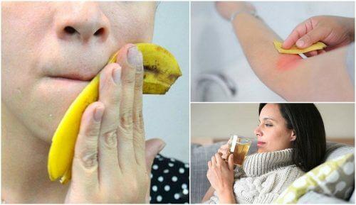 8種香蕉皮的迷人使用方式