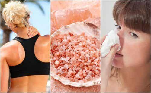 粉紅喜馬拉雅鹽的十種好處