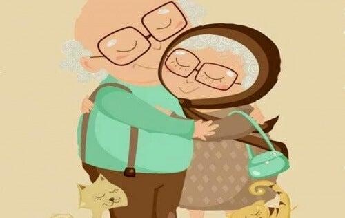 真愛能超越歲月、皺紋和時光