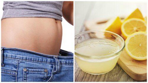 如何用檸檬減輕體重