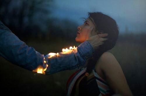 情侶-火焰