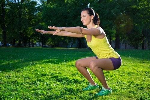 六個對抗腿部鬆弛的運動