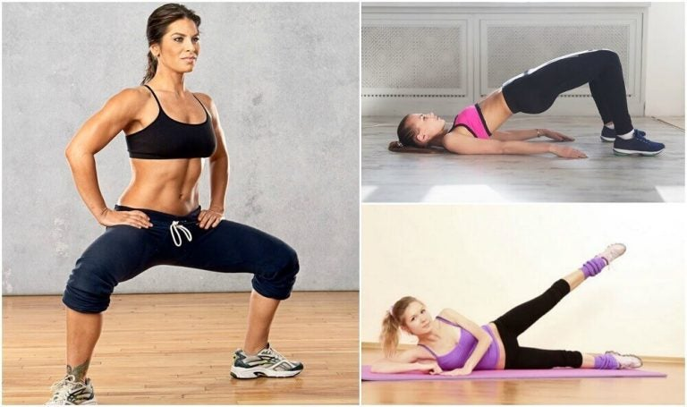在家就可以做的五種大腿訓練