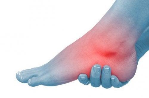 足部及腳踝腫脹的六種自然療法