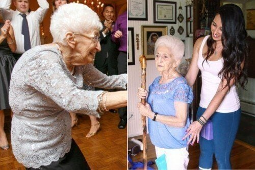 瑜伽改變一位87歲女性的體態及生活