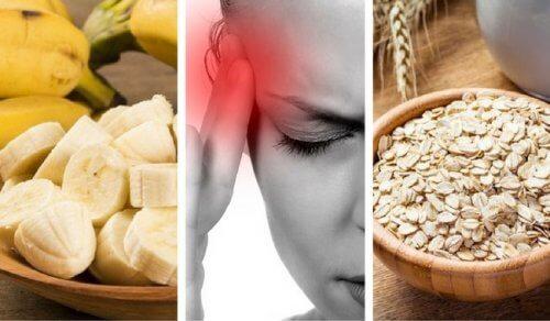 九種減緩疲勞和頭痛的食物