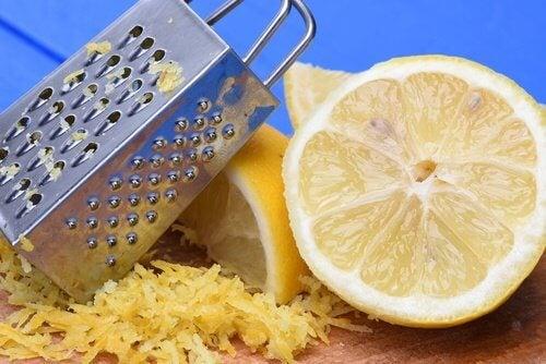 九種意想不到的檸檬皮用途