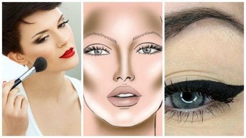 五種簡單化妝技巧打造完美小臉