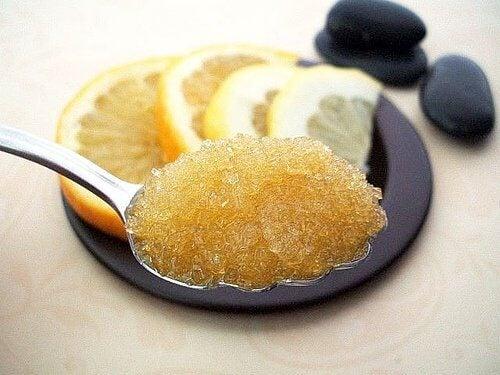 蜂蜜和檸檬