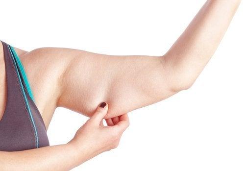 擺脫鬆弛手臂的自然療法