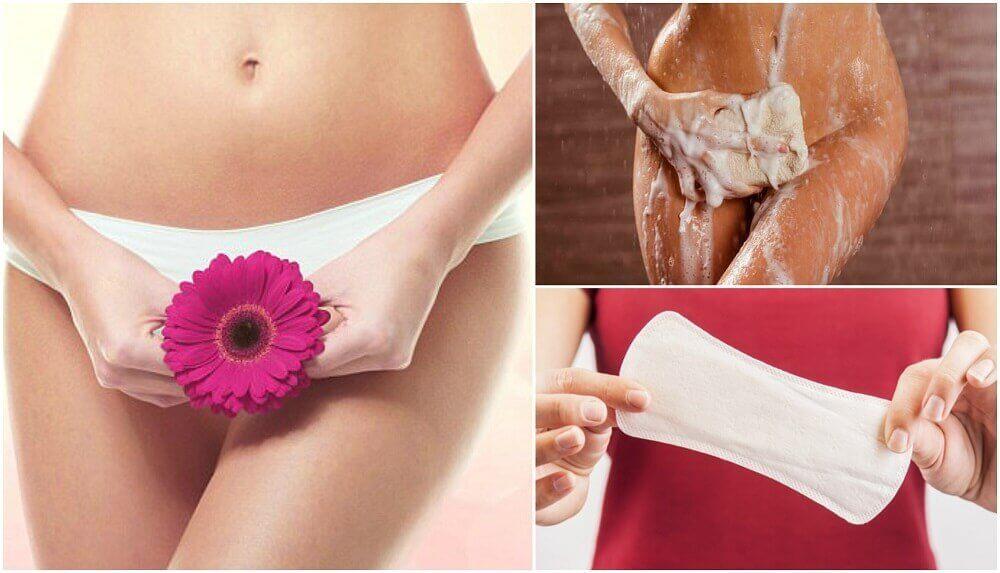 五個妳意想不到的私密處不良清潔習慣