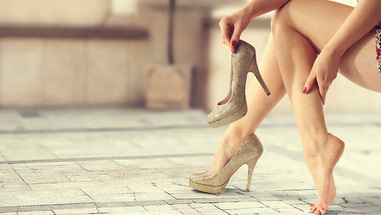 8個小技巧讓你穿一整晚的高跟鞋!