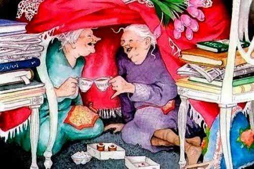 當我老了,我希望身邊的人心態都很年輕