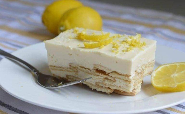 皇室甜點:檸檬夏洛特