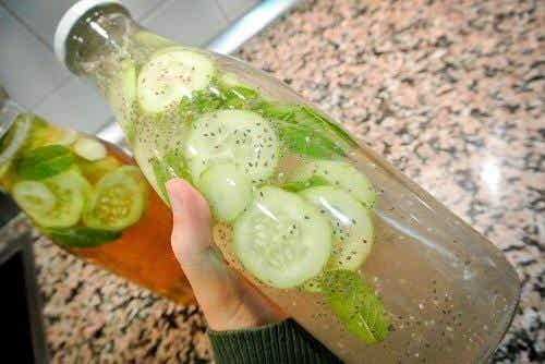 每天喝黃瓜水的六個理由