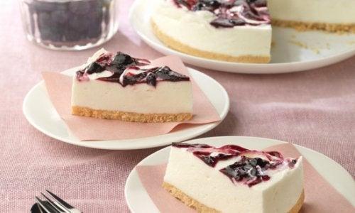 如何製作藍莓起司蛋糕