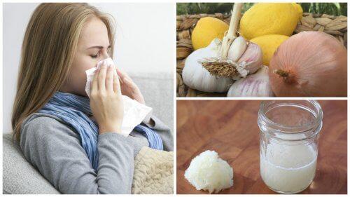 用洋葱治療咳嗽、過敏和流感