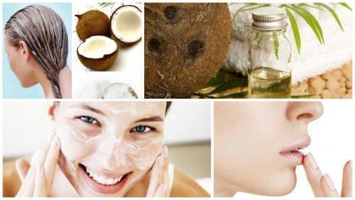 九種椰子油的新用途