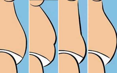 腹部會顯示出你的生活型態