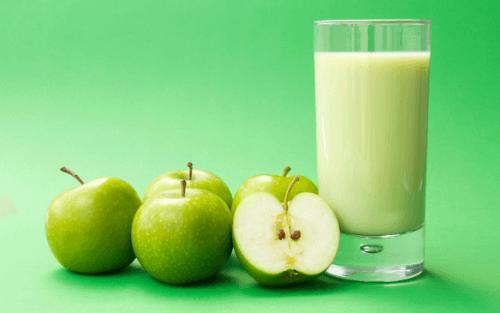 青蘋果奶昔
