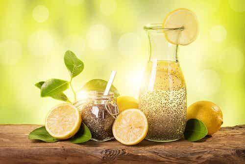 用檸檬、生薑和奇亞籽快速減重