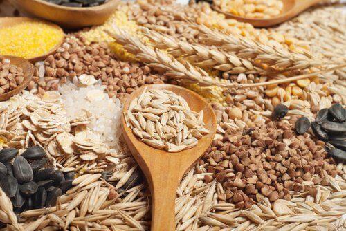 全穀類食物