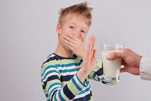 不喝牛奶的小孩