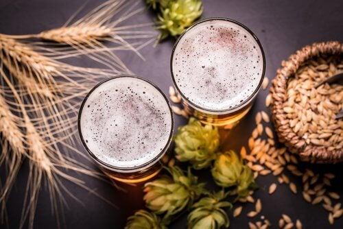 啤酒與麥子