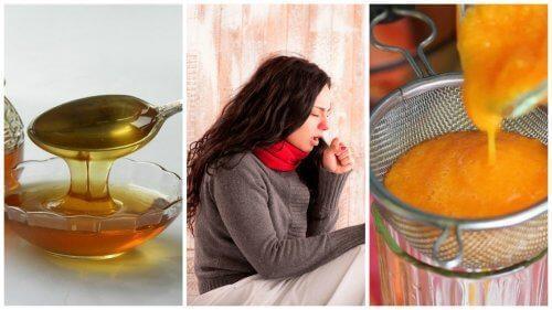 用蜂蜜紅蘿蔔糖漿去痰