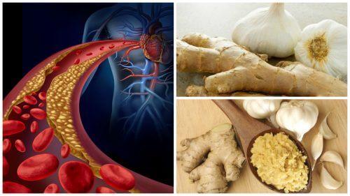 自製生薑蒜頭療方對抗高血壓和高膽固醇