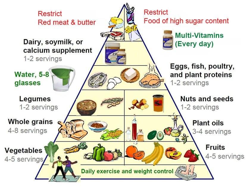 了解新飲食金字塔可以活得更健康