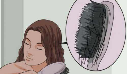 這些食物能防止頭髮變稀疏