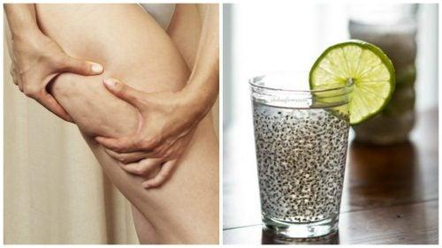 對抗橘皮組織及改善肌膚健康的亞麻籽飲品