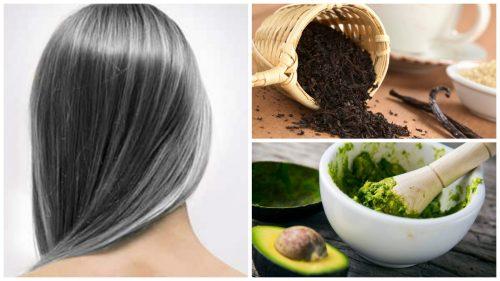 6種家庭療法減少白髮的過早出現