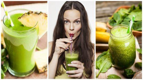 5種排毒和減重的綠色蔬果昔