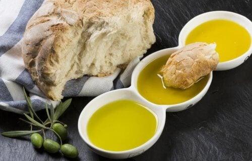 用橄欖油取代牛油