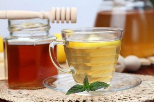 蘋果醋和蜂蜜