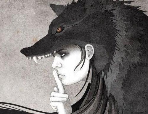 女人與狼安靜的選擇